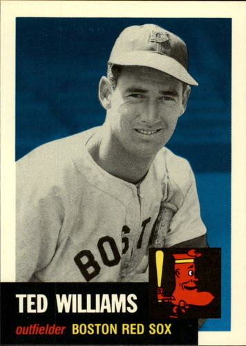 Photo of 1991 Topps Archives 1953 #319 Ted Williams