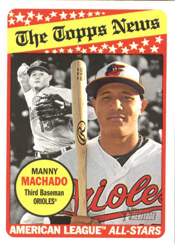 Photo of 2018 Topps Heritage #292 Manny Machado