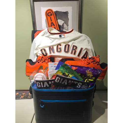 "Photo of Giants Wives Auction: Evan Longoria ""Favorite Things"" Basket"