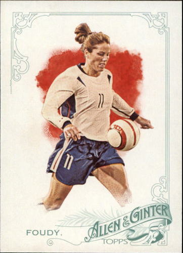 Photo of 2015 Topps Allen and Ginter #167 Julie Foudy