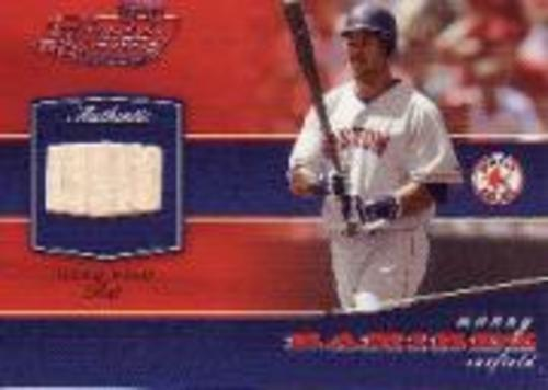 Photo of 2002 Playoff Piece of the Game Materials #54A Manny Ramirez Bat