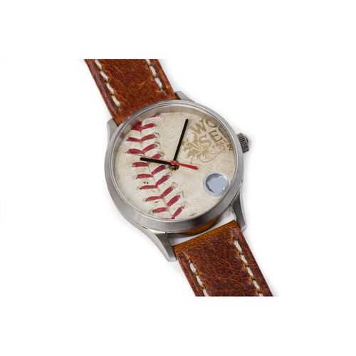 Photo of Tokens & Icons St. Louis Cardinals 2011 World Series Game Used Baseball Watch - Game 1