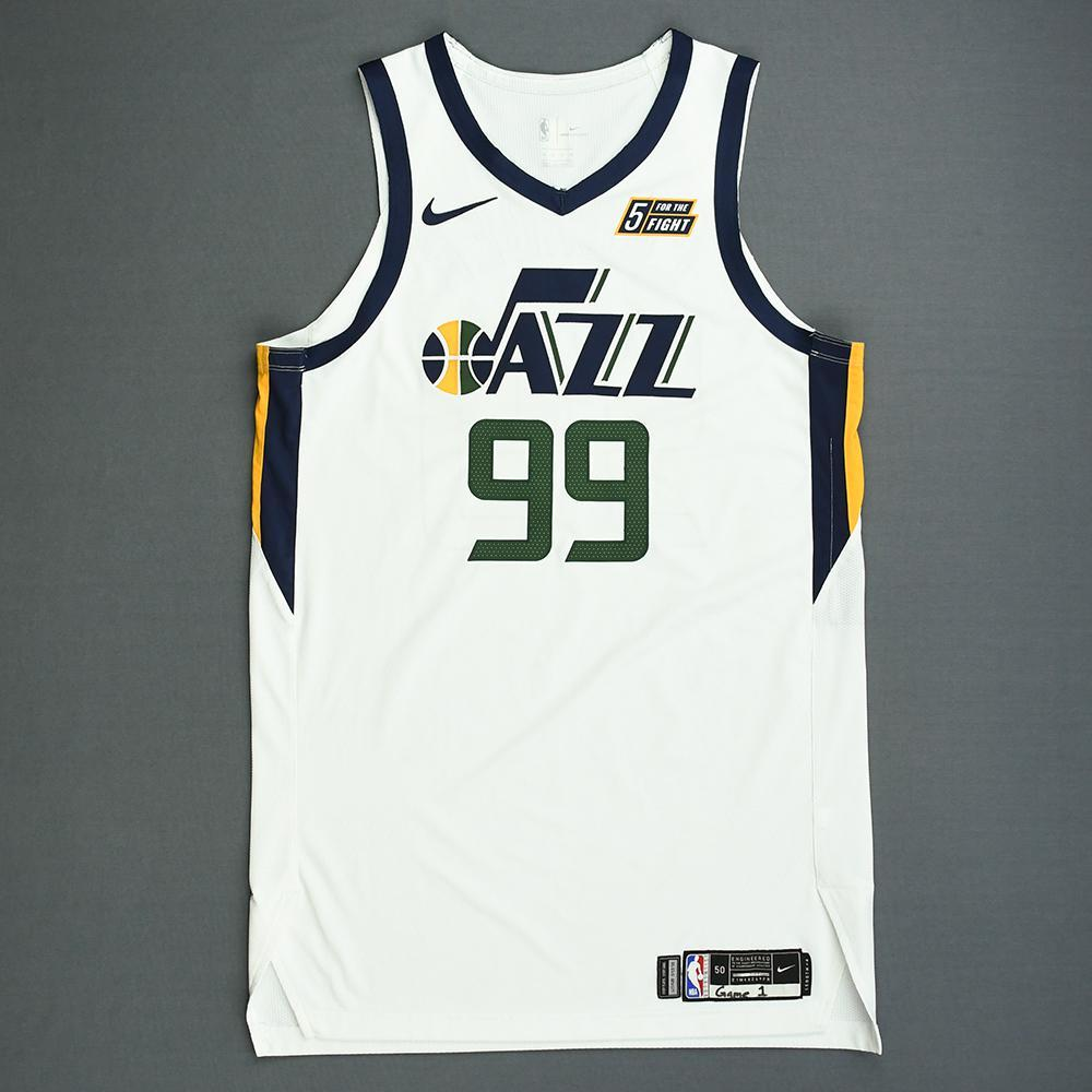 cheaper 94f2e 6e25c Jae Crowder - Utah Jazz - Game-Worn Association Edition ...