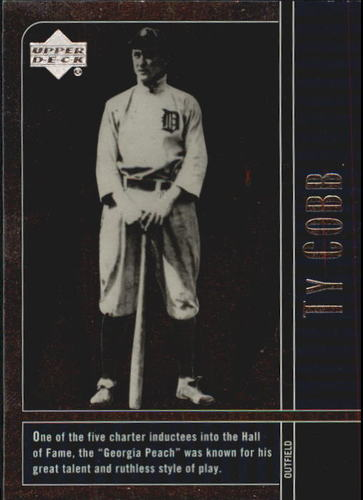 Photo of 2000 Upper Deck Legends #80 Ty Cobb