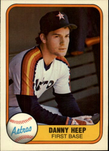 Photo of 1981 Fleer #72 Danny Heep RC