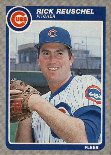 Photo of 1985 Fleer #63 Rick Reuschel