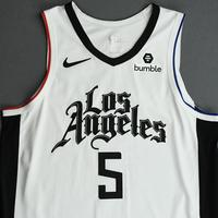Montrezl Harrell - Los Angeles Clippers - Game-Worn City Edition Jersey - 2019-20 Season