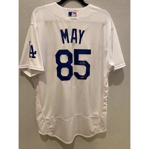 Photo of Dustin May Authentic Autographed Los Angeles Dodgers Jersey