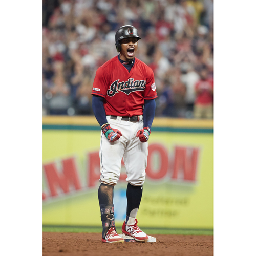 Photo of PRESALE - Francisco Lindor Team-Issued or Game-Worn Jersey from 9/5/20 Game