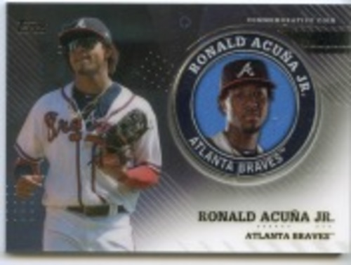 Photo of 2020 Topps Player Medallions #TPMRA Ronald Acuna Jr.
