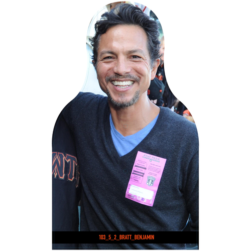 Photo of Giants Community Fund: Giants Benjamin Bratt Cutout