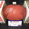 NFL - Patriots Damien Harris Signed Authentic Football