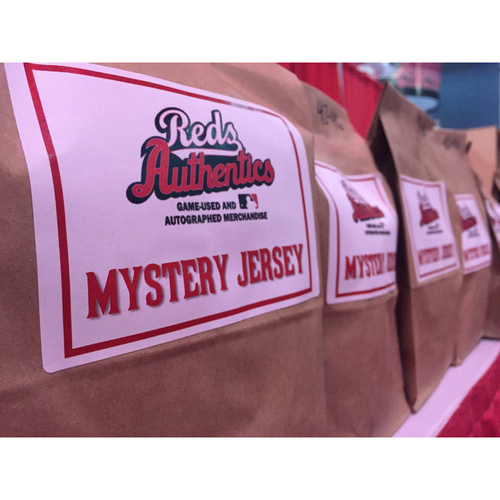 Photo of Reds Mystery Jersey ** 2-Day Flash Sale (Free Shipping) ** Each Bag Contains an Authenticated Reds Jersey -- Benefitting the Reds Community Fund