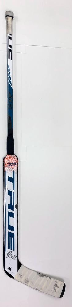 #32 Josef Korenar Game Used Stick - Autographed - San Jose Sharks