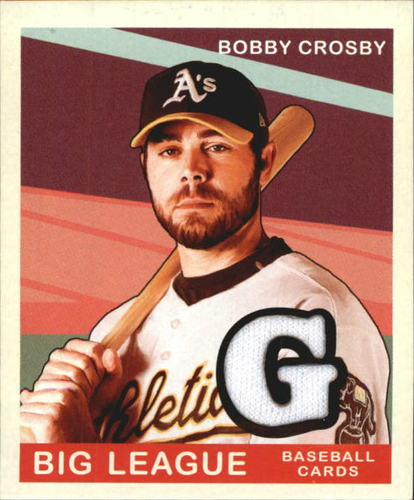 Photo of 2007 Upper Deck Goudey Memorabilia #17 Bobby Crosby