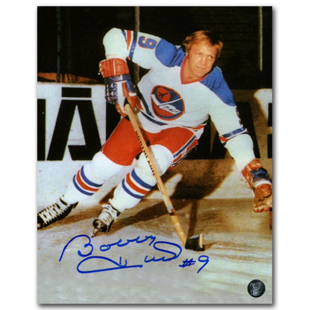 Bobby Hull Autographed Winnipeg Jets 8X10 Photo