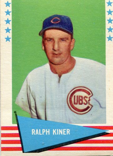 Photo of 1961 Fleer #50 Ralph Kiner -- Hall of Fame Class of 1975