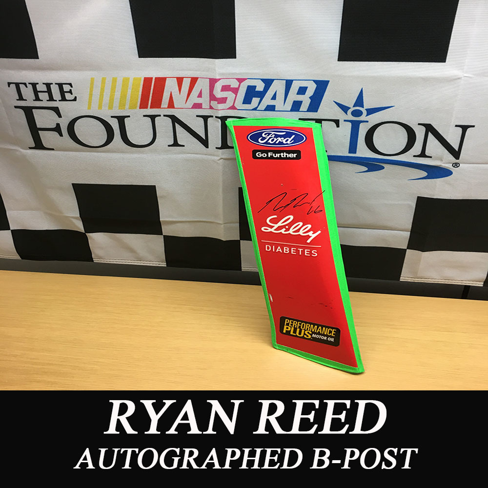 NASCAR's Ryan Reed Autographed B-Post!