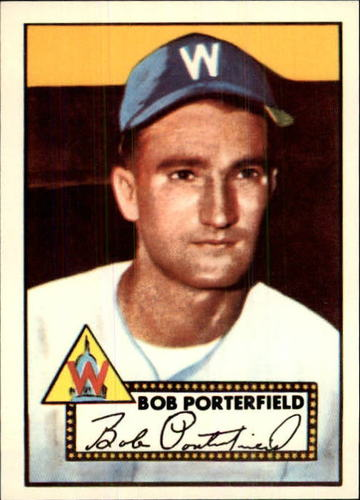 Photo of 1983 Topps 1952 Reprint #301 Bob Porterfield