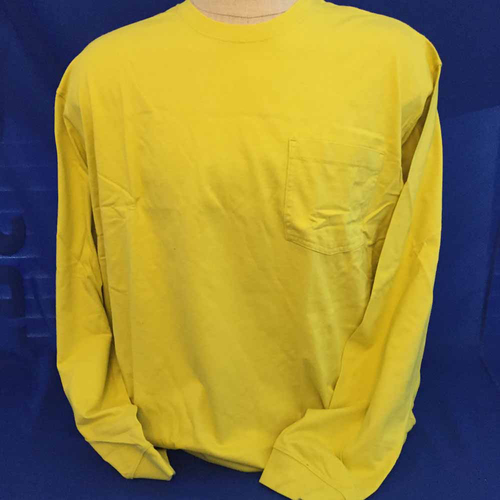 Photo of UMPS CARE AUCTION: Duluth Trading Co. Yellow Longtail Shirt and Six Pair of Thermal Socks, Size XX-Large