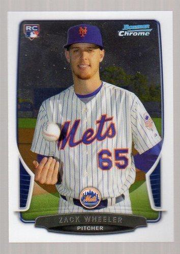Photo of 2013 Bowman Chrome #49 Zack Wheeler Rookie Card