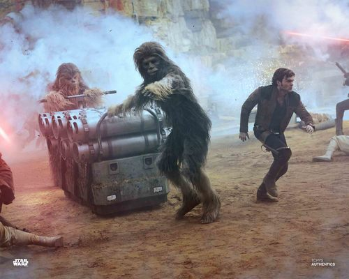 Han Solo, Chewbacca and Sagwa