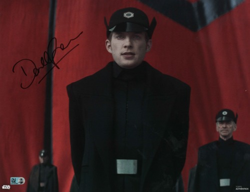 Domhnall Gleeson As General Hux 11X14 AUTOGRAPHED IN 'BLACK' INK PHOTO