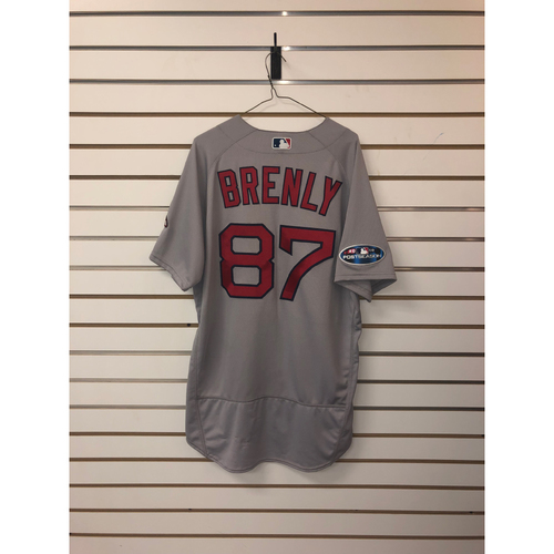 Photo of Mike Brenly Team Issued 2018 Postseason Road Jersey