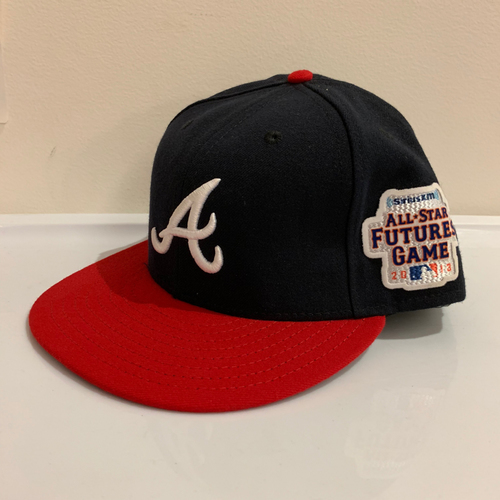 Photo of 2013 All Star Futures Game -  Game Used Cap  -  Christin Bethancourt (Atlanta Baves) Size - 7 -3/8