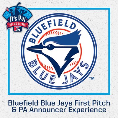 Bluefield Blue Jays First Pitch & PA Announcer Experience