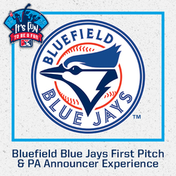 Photo of Bluefield Blue Jays First Pitch & PA Announcer Experience