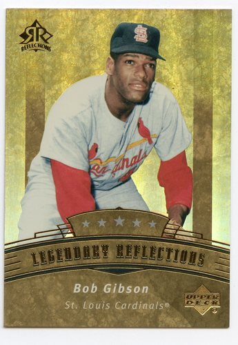 Photo of 2005 Donruss Greats Gold HoloFoil #92 Bob Gibson