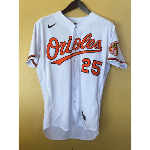 Photo of Anthony Santander: Home Run Jersey (Game-Used)