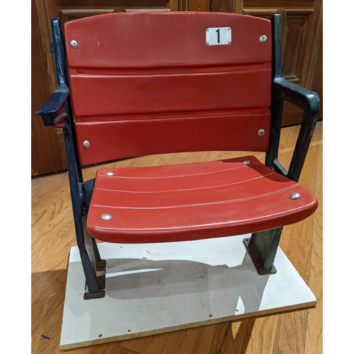 Photo of Fenway Park Red Section 20 Single Seat #1