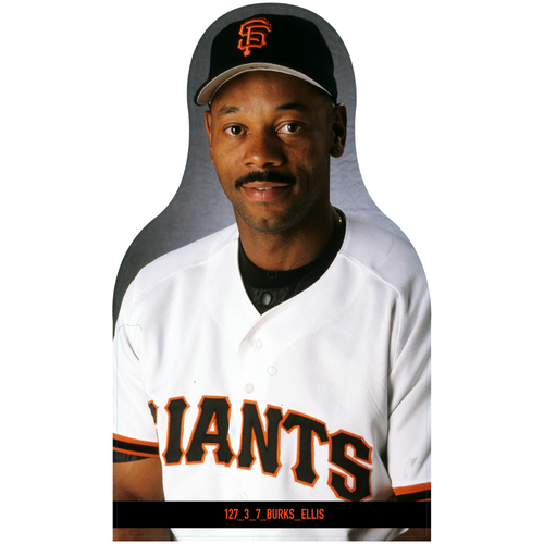 Photo of Giants Community Fund: Giants Ellis Burks Cutout