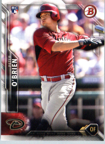 Photo of 2016 Bowman #141 Peter O'Brien RC