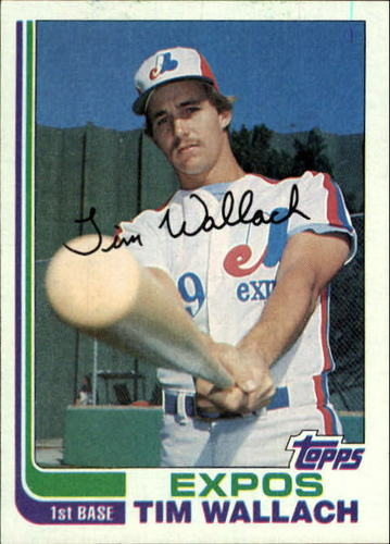 Photo of 1982 Topps #191 Tim Wallach RC