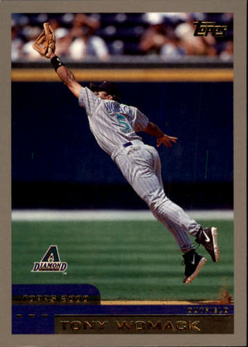 Photo of 2000 Topps #412 Tony Womack