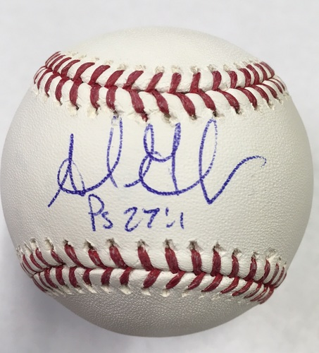 Photo of Adrian Gonzalez Autographed Baseball