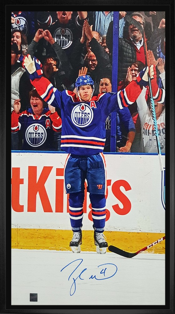 Taylor Hall - Signed 14x28