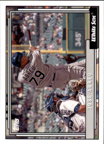 Photo of 2017 Topps Archives #223 Jose Abreu