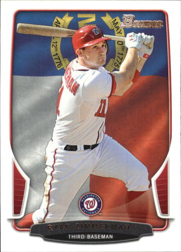 Photo of 2013 Bowman Hometown #60 Ryan Zimmerman