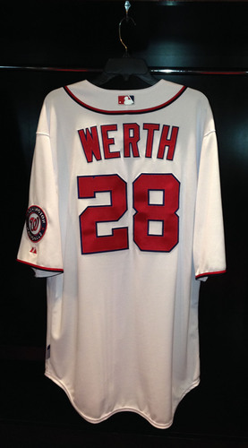 best authentic 638df 44b7c MLB Auctions | Nationals Authentics: Jayson Werth Game-Used ...