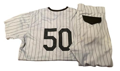 Photo of Jacob Barnes Game-Used Milwaukee Bears Jersey and Pants
