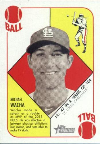 Photo of 2015 Topps Heritage '51 Collection #47 Michael Wacha