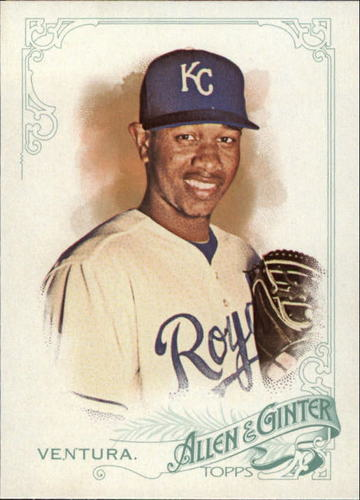 Photo of 2015 Topps Allen and Ginter #169 Yordano Ventura