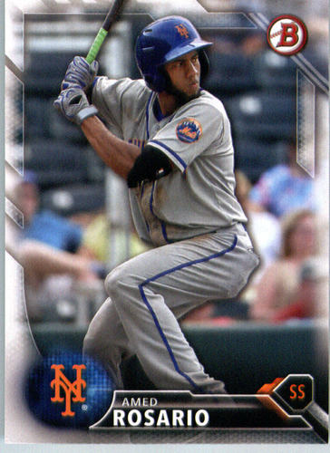 Photo of 2016 Bowman Prospects #BP95 Amed Rosario