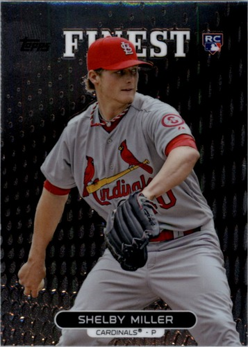 Photo of 2013 Finest #69 Shelby Miller Rookie Card