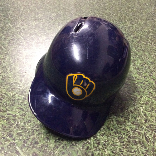 Photo of Josh Hader 2018 Team-Issued Batting Helmet