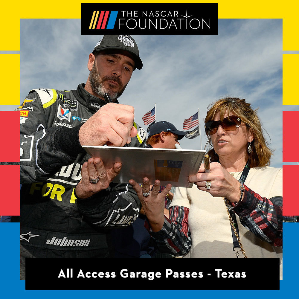 All Access Garage Passes at Texas benefitting The Paralyzed Veterans of America!
